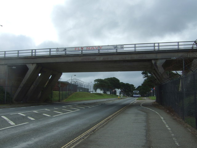 Bridge over the A3083, RNAS Culdrose