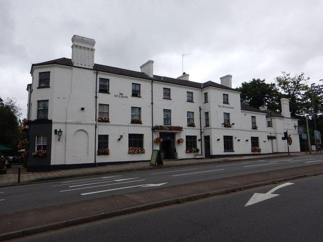 The Weatsheaf Hotel on the A30
