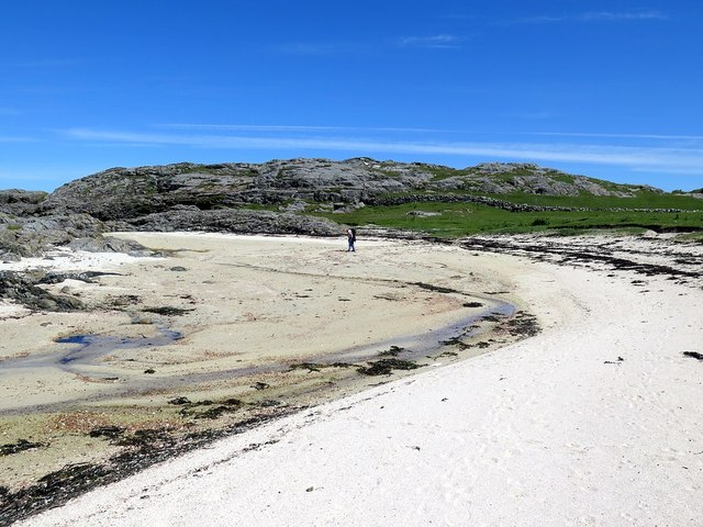 Beach on north coast of Tiree