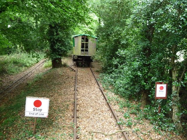 The end of the line at Bressingham