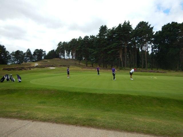 Golf Green at Sunningdale Golf Club