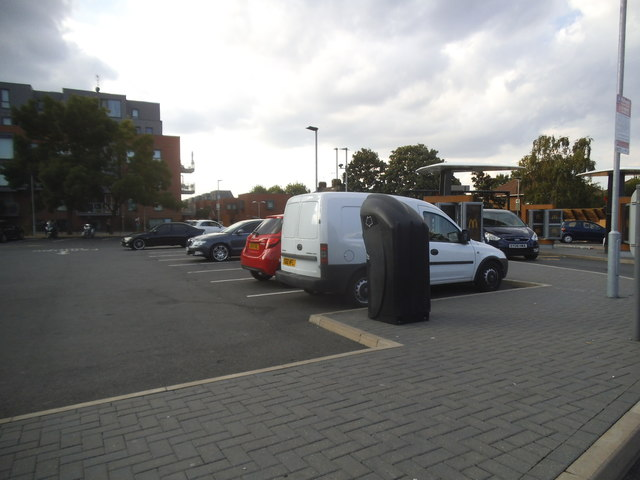 McDonald's car park Colindale