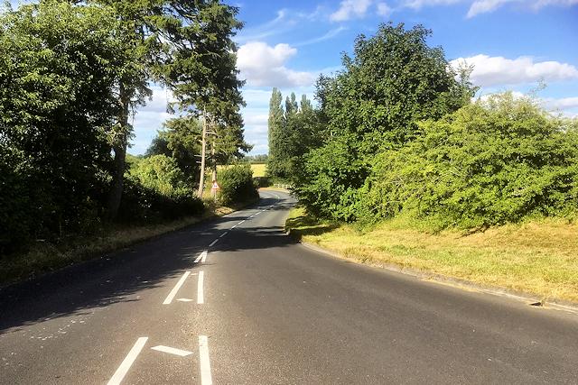 A345 near The Woodbridge Inn