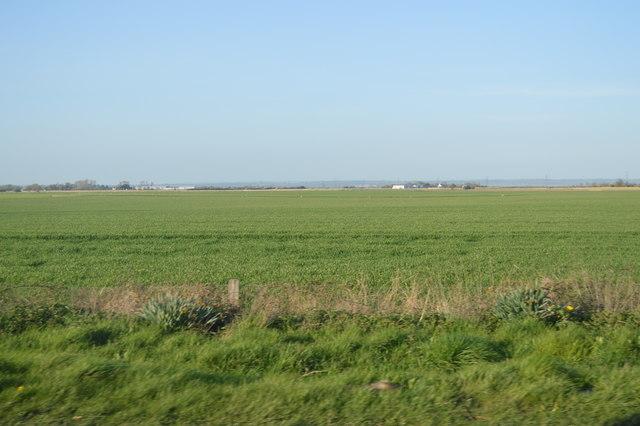 Farmland near Old Romney