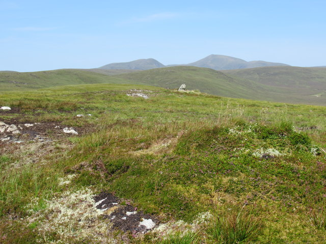 Top of Sron Leathad Chleansaid near Lairg