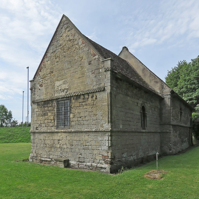 Cambridge: the Leper Chapel of St Mary Magdalene