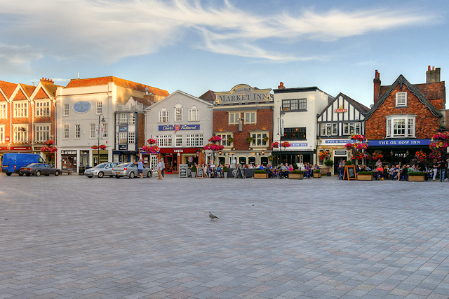 Salisbury Market Square and Ox Row