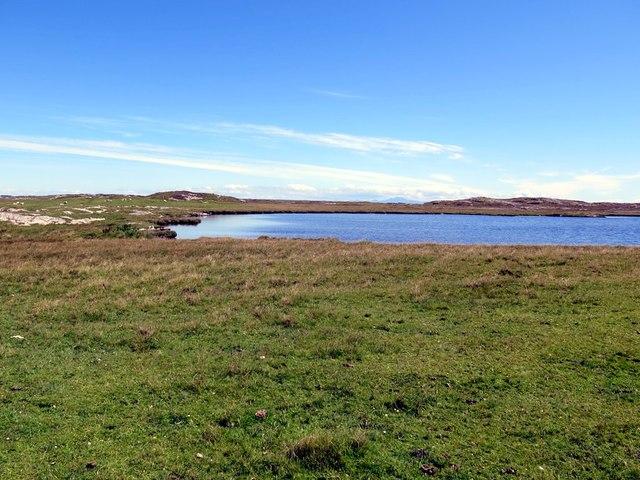 Loch Dubh a' Gharraidh Fail