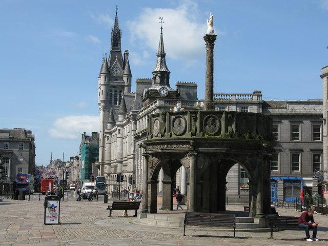 Mercat Cross, Castle Street, Aberdeen