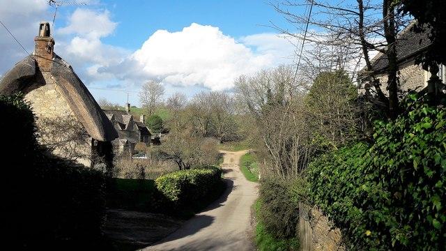 View through Radford