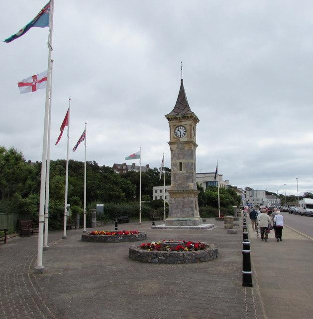 Jubilee Clock Tower, The Esplanade, Exmouth