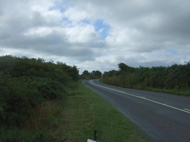 A3083 towards Lizard