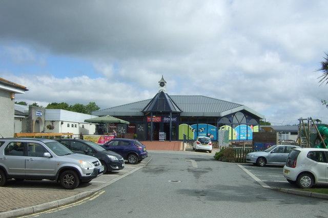 Entertainment centre, Mullion Holiday Park