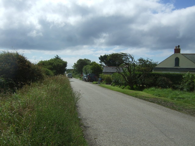 Minor road towards Cadgwith