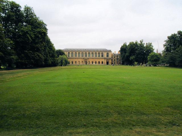 Green near Trinity College, Cambridge