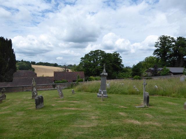 St Peter, Ashburnham: churchyard (c)