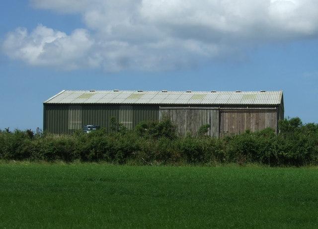 Barn near Trerise