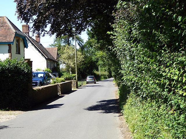 Looking north in Chetnole village