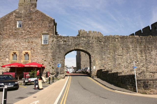 Castle Ditch, Caernarfon