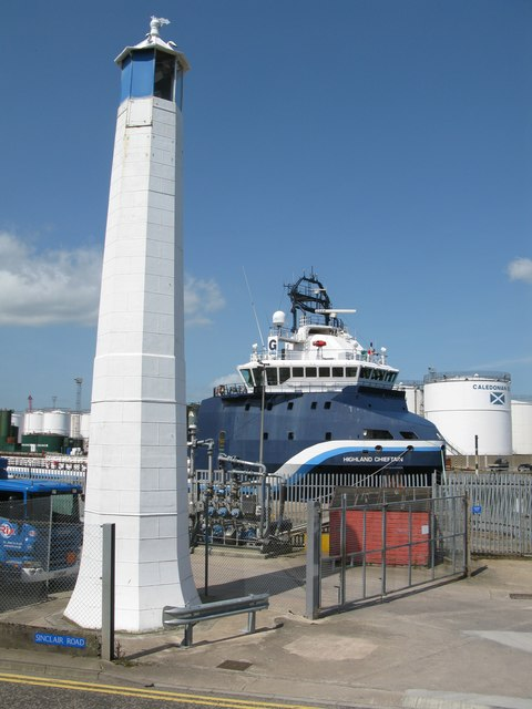 East Leading Light, Sinclair Road, Torry, Aberdeen Harbour