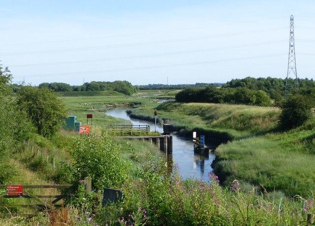 Weir on Savick Brook