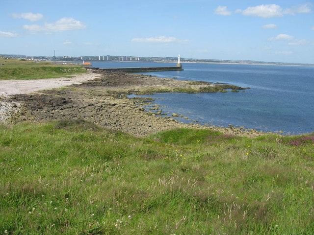 Greyhope Bay, Girdle Ness, Aberdeen