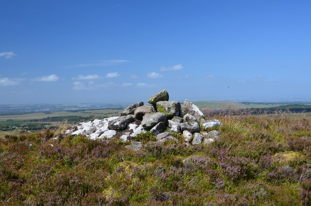 Cairn on Colzium Hill
