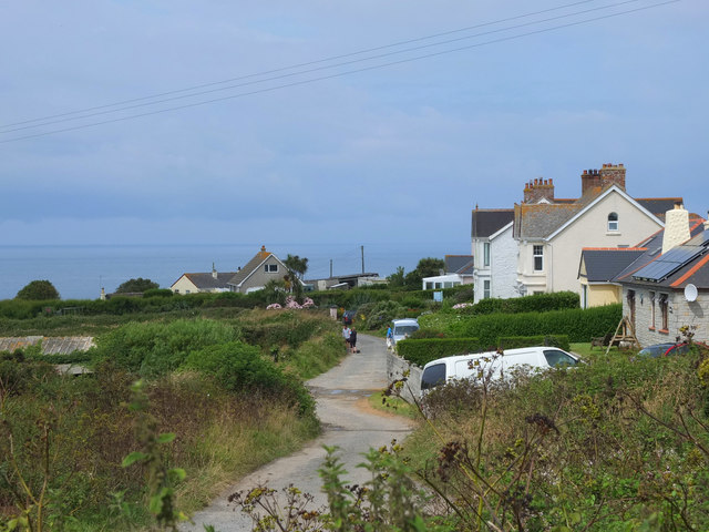 Pentreath Lane, The Lizard, Cornwall