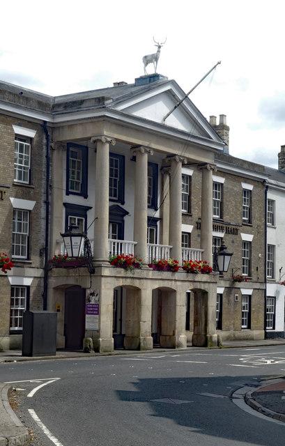"Portico, ""White Hart Hotel"", Salisbury"