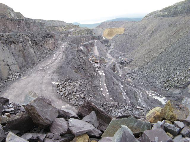 Quarry level