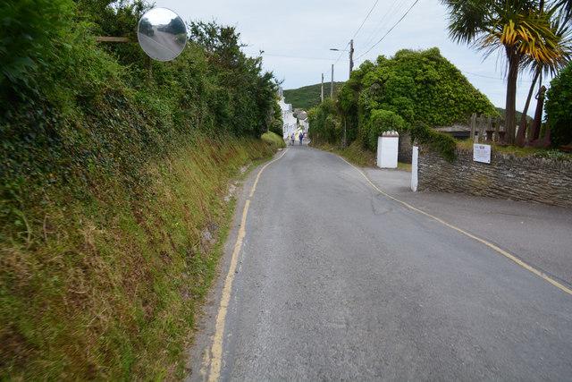 Mortehoe : North Morte Road