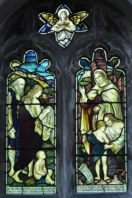 North Marston, St. Mary's Church: Stained glass window