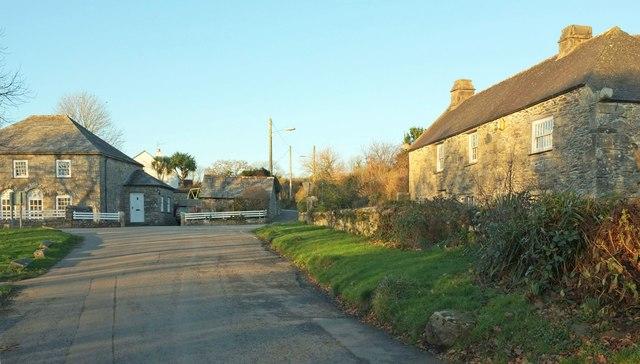 Houses at Blisland