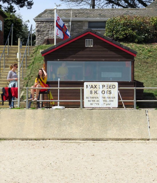 Lifeguard Station on Avon Beach