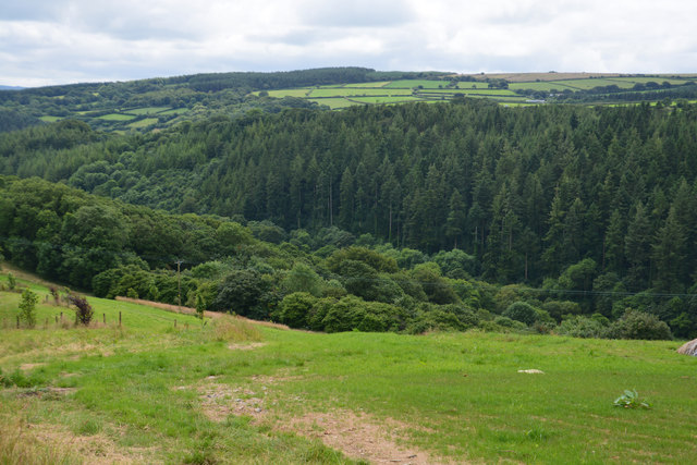 Cornwall : Countryside Scenery