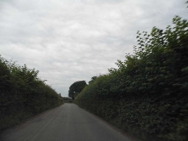 Red Lion Lane approaching Briden's Camp