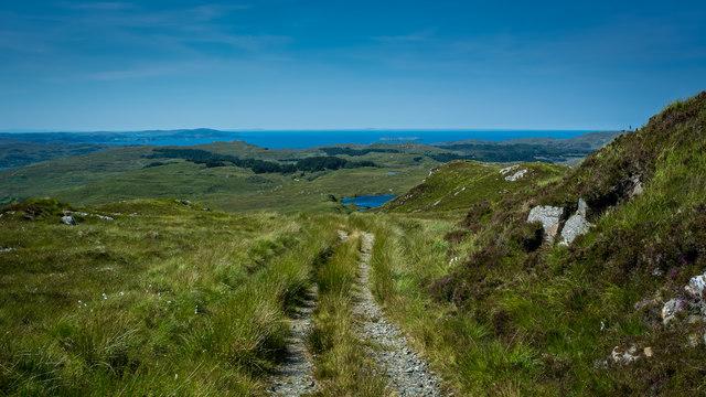 Hill track above Kylestrome (2)