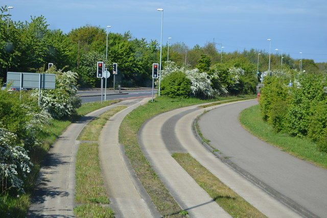 End of Guided busway
