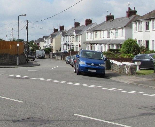 Junction of Church Road and Wentloog Road, Rumney, Cardiff