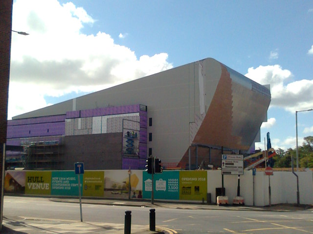 Cladding of the Hull Venue