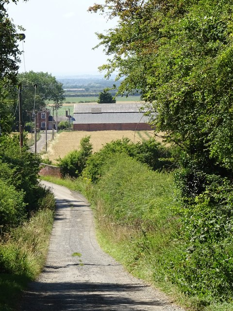 Track to Manor farm