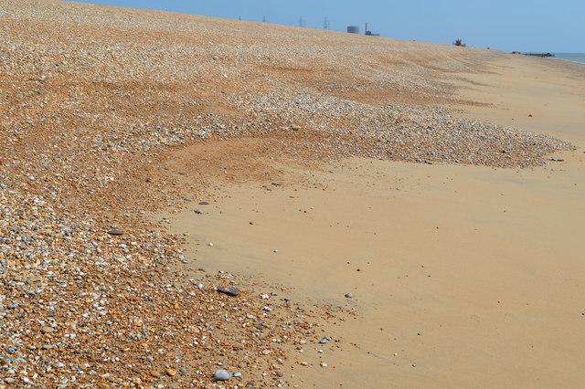 Cusp, Dungeness Beach