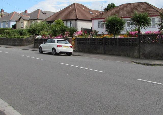 Wentloog Road bungalows, Rumney, Cardiff