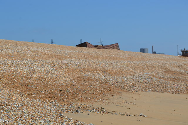Containers, Dungeness Beach