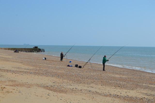 Fishermen, Dungeness Beach