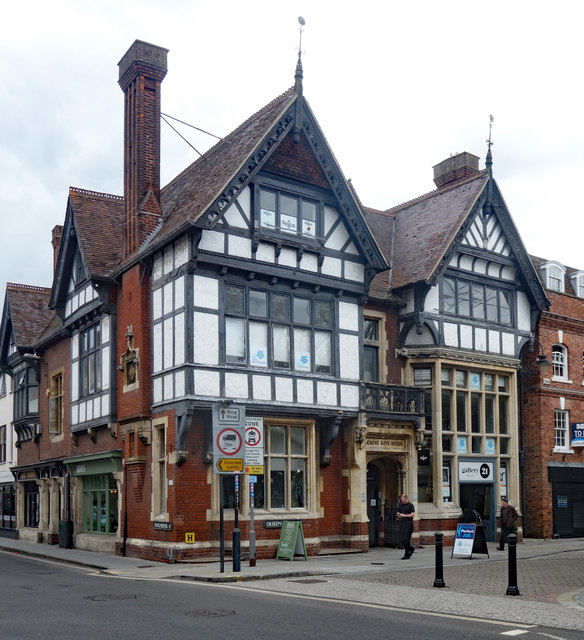 Cross Keys House, Queen Street, Salisbury