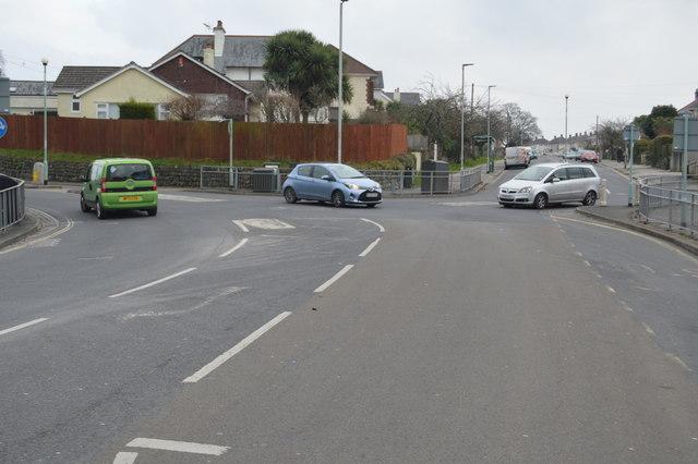 Eggbuckland Rd, Efford Rd junction