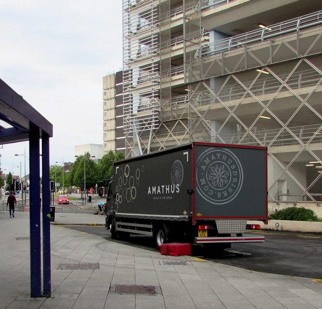 Amathus lorry, Kingsway, Newport