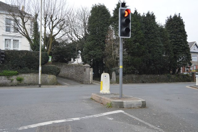 Higher Compton Rd, B3250 junction
