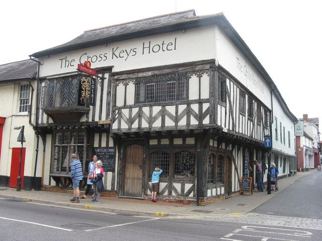 Cross Keys Hotel, Saffron Walden